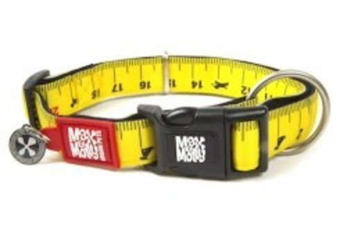 Max & Molly Hondenhalsband Ruler