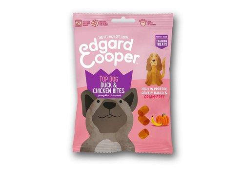 Edgard&Cooper Eend & Kip bites met pompoen & banaan 50 gram