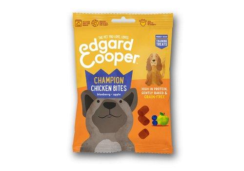 Edgard&Cooper Kip bites met blauwe bessen & appel 50 gram