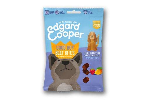 Edgard&Cooper Runder bites met aardbei & mango 50 gram