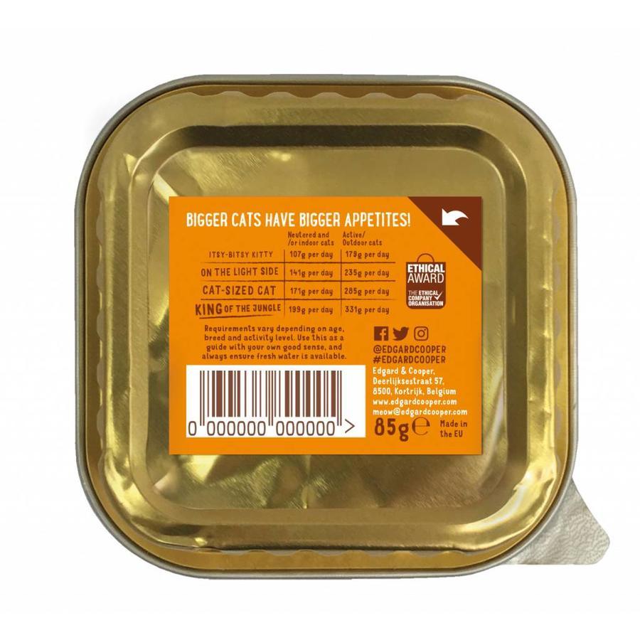 *Kat - Kalkoen & Garnalen kuipje 85 gram