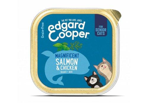 *Senior kat - Zalm & Kip kuipje 85 gram