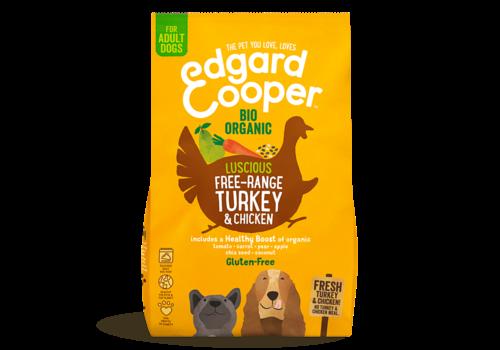 Edgard&Cooper Verse Biologische Kalkoen & Kip