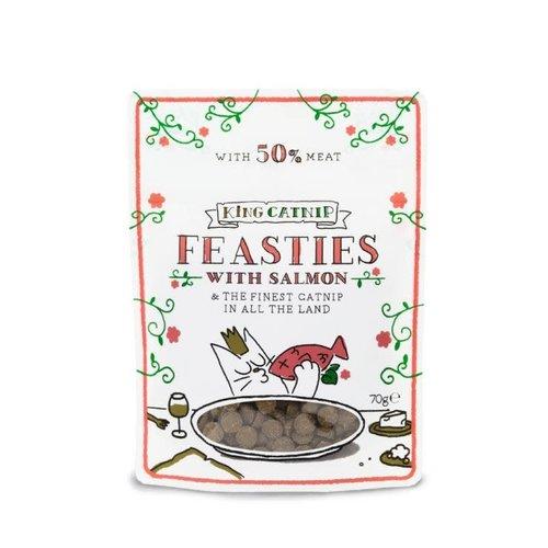 *King Catnip snoepjes met zalm 70 gram