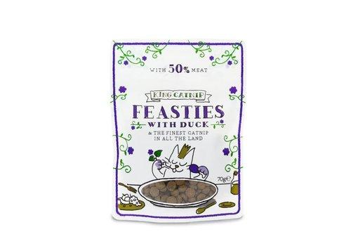 *King Catnip snoepjes met eend 70 gram