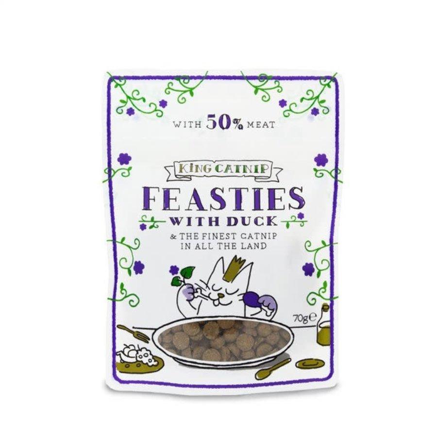 King Catnip snoepjes met eend 70 gram