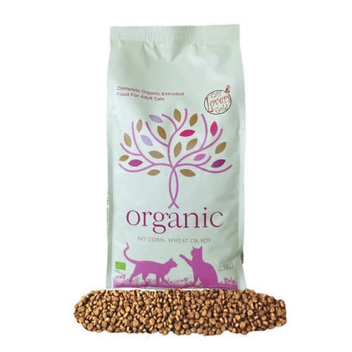 Cat Lovers Gold Cat Lovers Gold Organic 2,5 KG