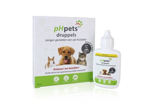 pHpets druppels 40 ml
