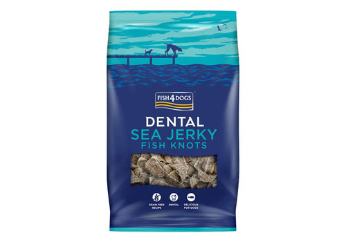 Fish4Dogs Sea Jerky - Fish Knots 100 gram