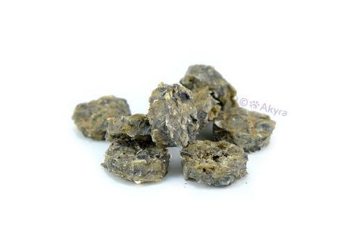 Akyra Kabeljauwhuid munten 200 gram