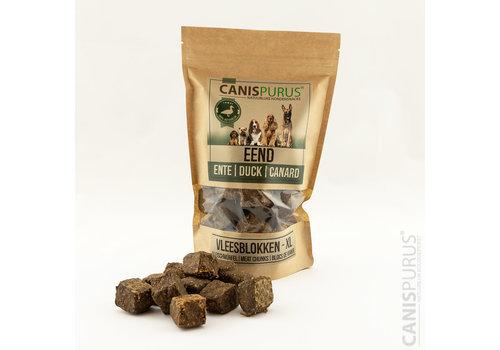 Canis Purus Vleesblokken XL Eend 400 gram