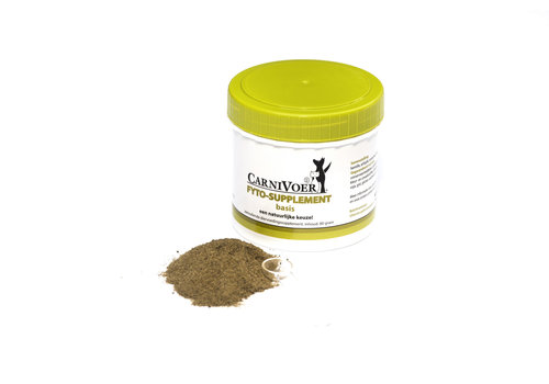 Carnivoer Fyto-supplement Basis 80 gram