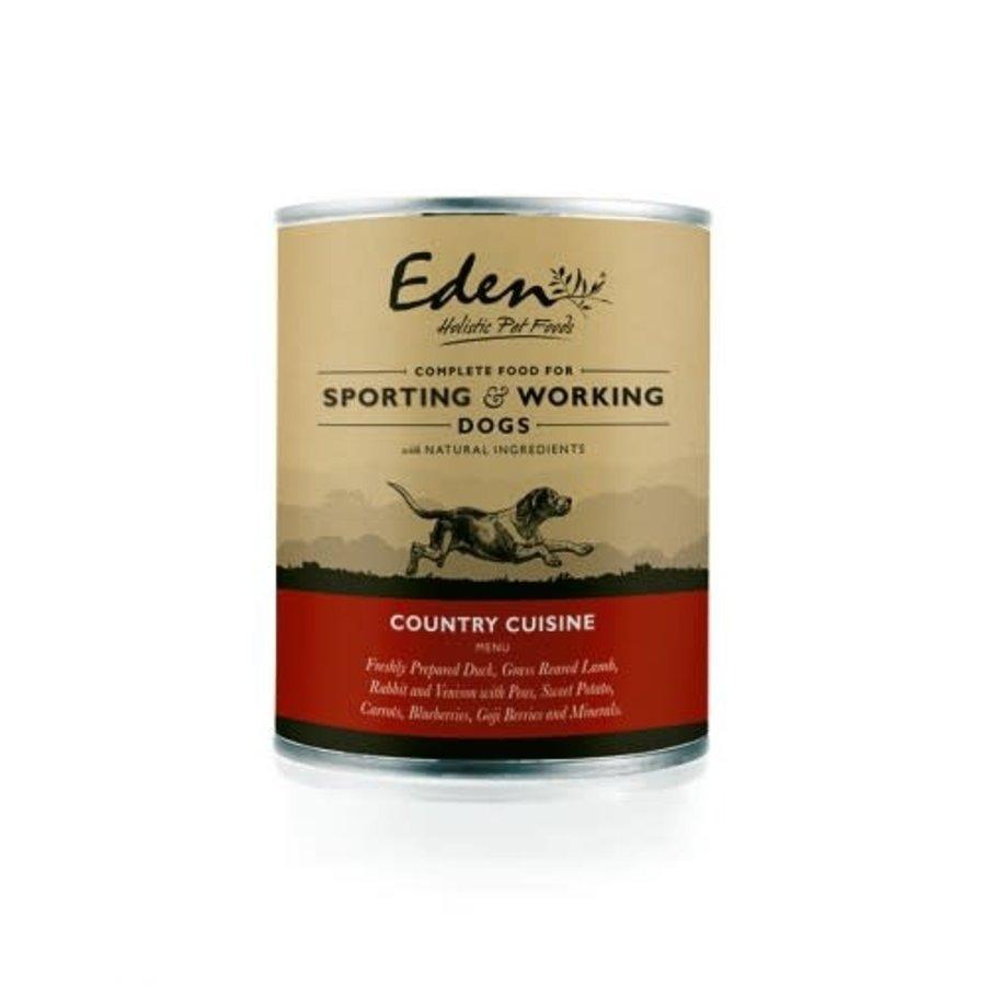 Blik Country Cuisine  actieve honden 400 gram
