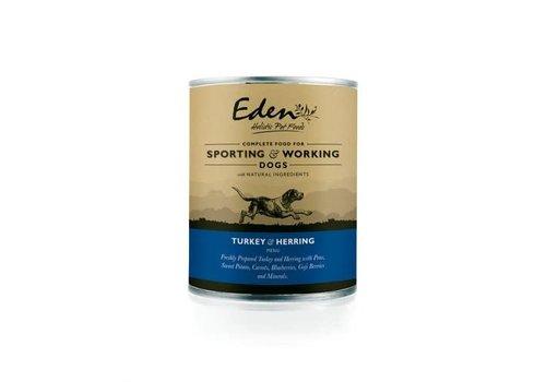 Eden Blik Kalkoen & Haring actieve honden 400 gram