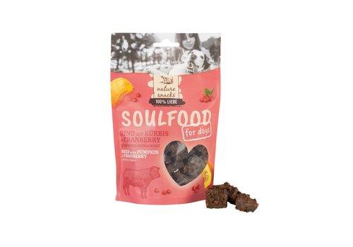 *Rundhapjes met pompoen & cranberry 130 gram