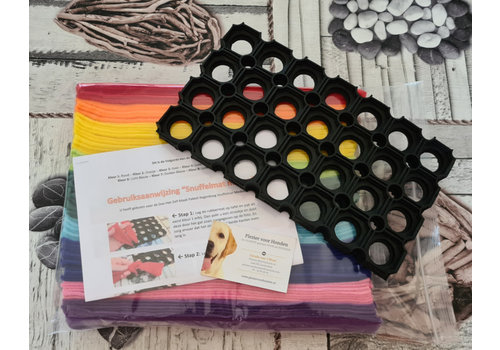 Doe-het-zelf-maak-pakket Regenboog Snuffelmat