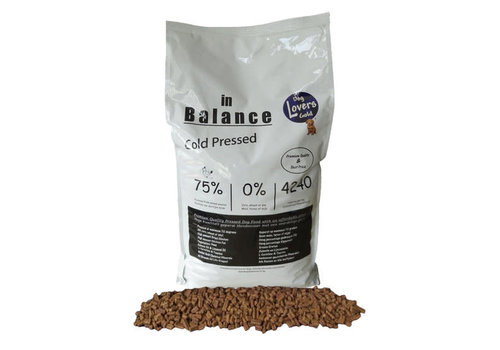 Dog Lovers Gold In Balance Cold Pressed 13 KG