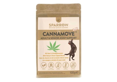 Sparrow Pet CannaMove® Forte 100g