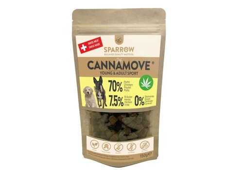 Sparrow Pet CannaMove® Snacks 200g