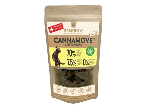 Sparrow Pet CannaMove® Forte Joint Fit Snacks 200g