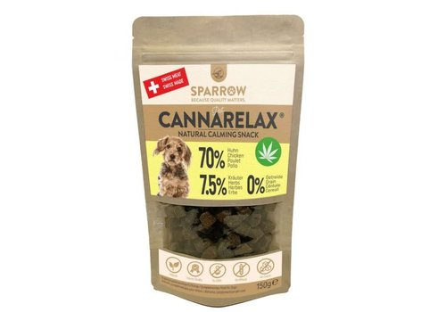 Sparrow Pet CannaRelax® Snacks 200g