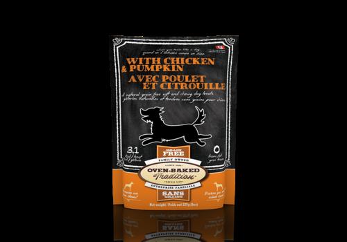 Oven-Baked Tradition Dog Treat Chicken & Pumpkin 230 gram