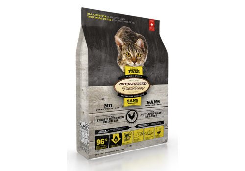 Oven-Baked Tradition Grain Free Cat Food Chicken
