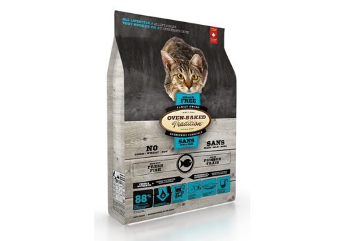 Oven-Baked Tradition Grain Free Cat Food Fish