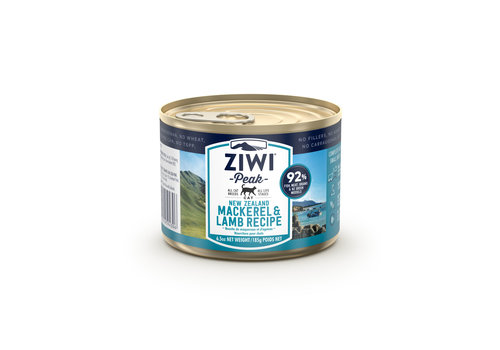 Ziwipeak Cat blik Mackerel & Lamb