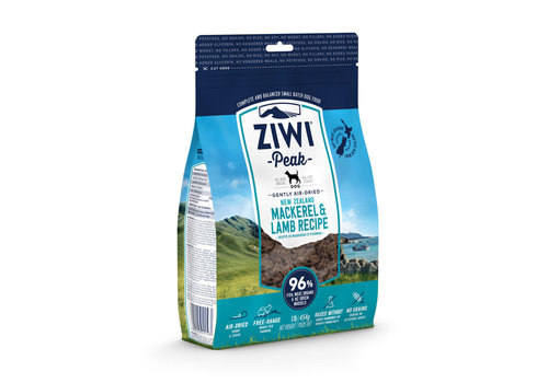 Ziwipeak Dog Air Dried Mackerel & Lamb