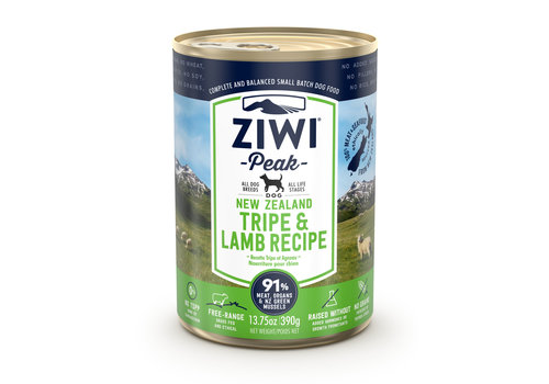 Ziwipeak Dog blik Tripe & Lamb 390 gram