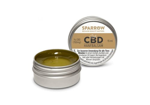 Sparrow Pet Hemp Balm with CBD 15ml