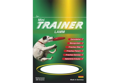 Wallitzer Natuurtrainers Lam 200 gram