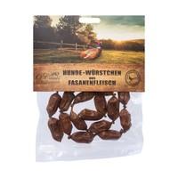 Worstjes Fazant 100 gram