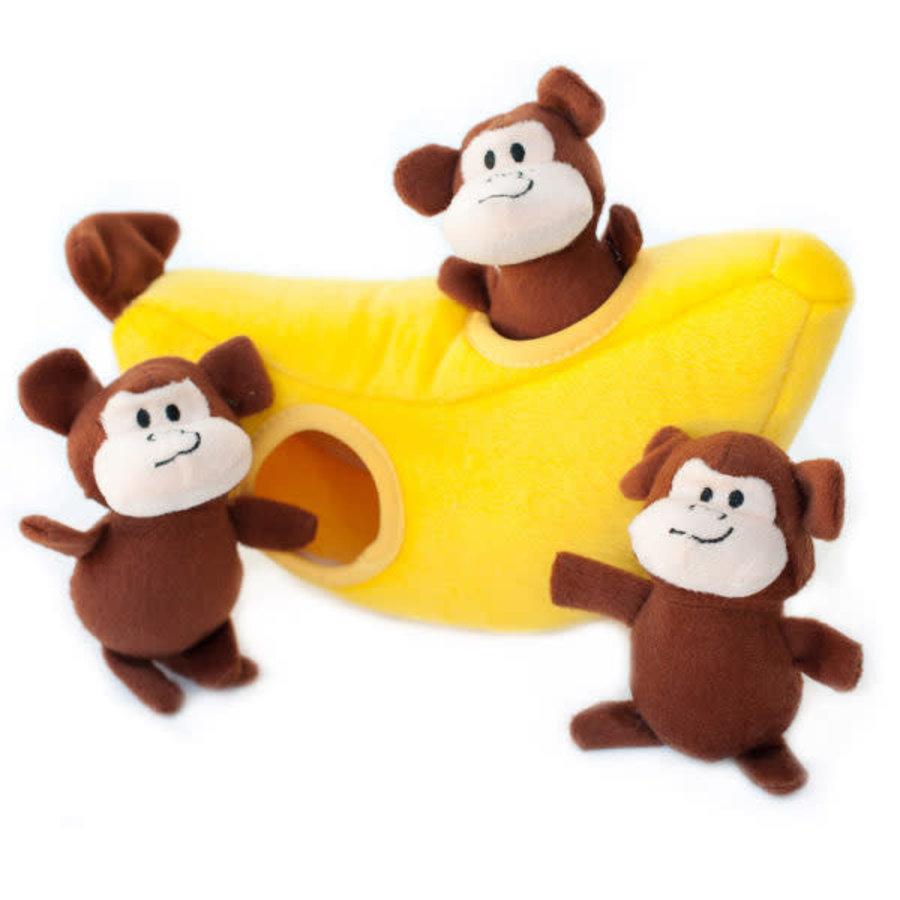 Verstopspeeltje - Apen & Banaan