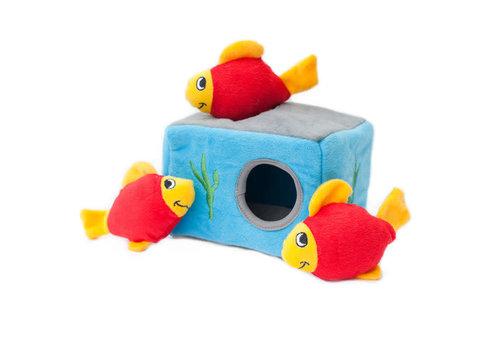 ZippyPaws Verstopspeeltje - Aquarium