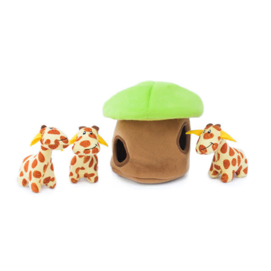 Verstopspeeltje - Giraffen Lodge