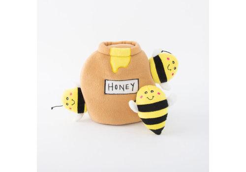 ZippyPaws Verstopspeeltje - Honingpot met bijen
