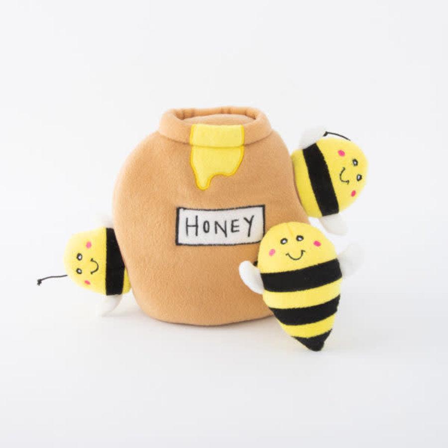 Verstopspeeltje - Honingpot met bijen