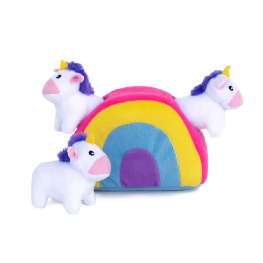 Verstopspeeltje - Unicorns & Regenboog