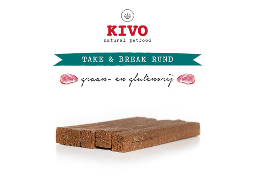 Kivo Take & Break Rund 50 stuks