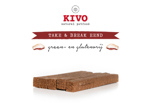 Kivo Take & Break Eend 50 stuks