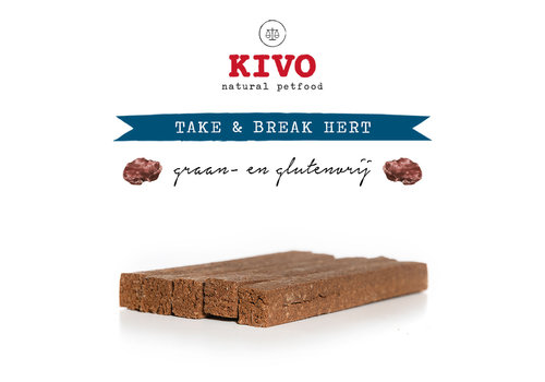 Kivo Take & Break Hert 50 stuks