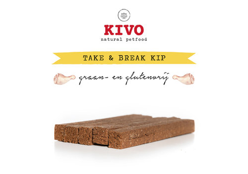 Kivo Take & Break Kip 50 stuks