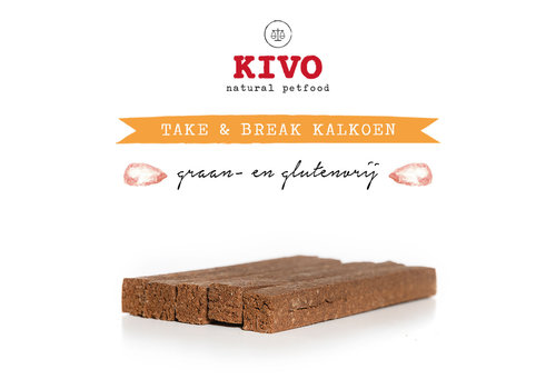 Kivo Take & Break Kalkoen 50 stuks