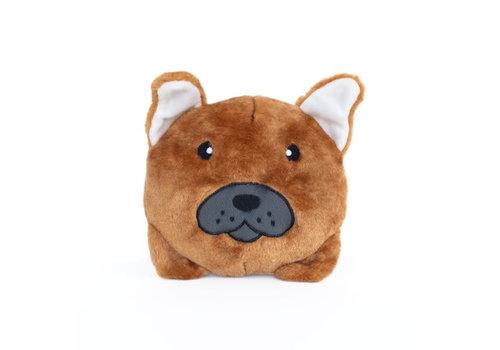 ZippyPaws Squeakie Franse Bulldog