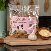 Grain Free Garlic Chicken paws 400 gram