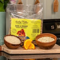 Wheat Free Duck & Orange mini's 500 gram
