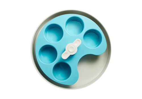 SPIN Interactive Feeder Palette Blue - medium