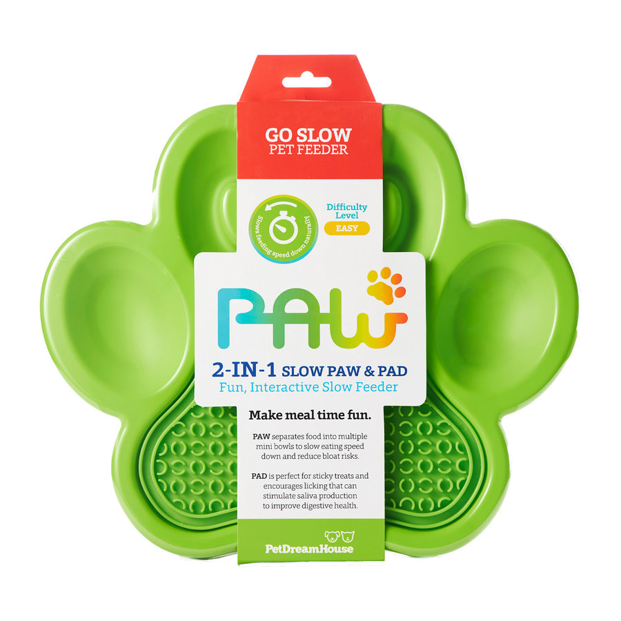 Paw 2-in-1 Slow Feeder & Lick Pad